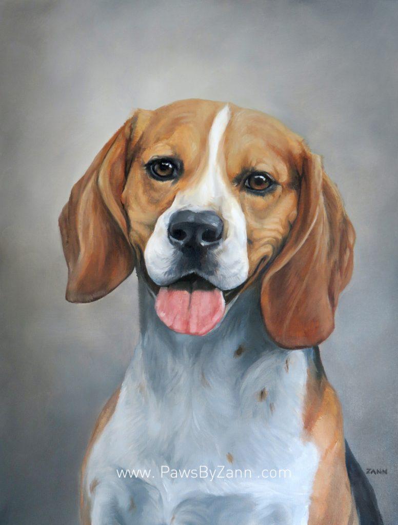 Beagle Dog Painting