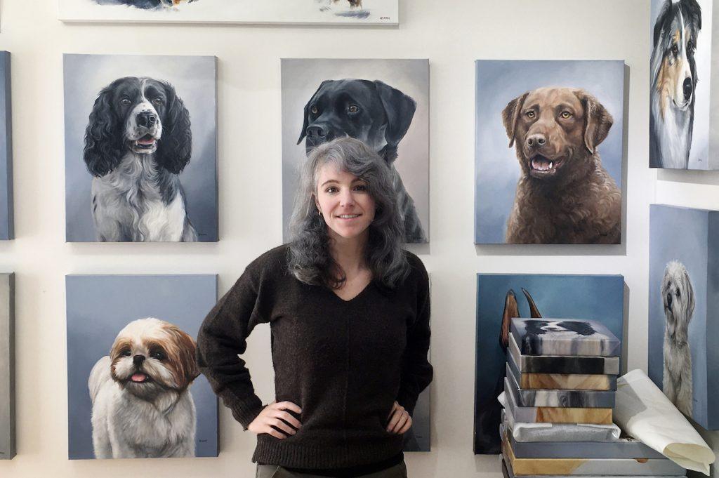 Zann Hemphill pet portrait artist