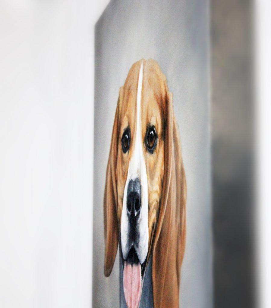 Pet Portrait Painting Surface Matte