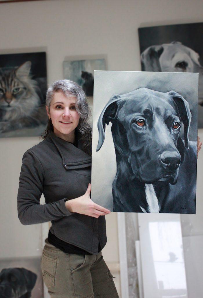 Canadian Pet Portrait Artist