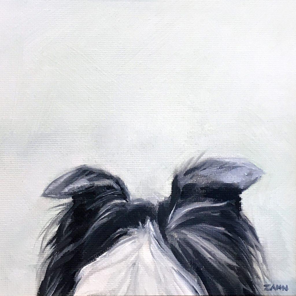 Dog Ears Art Mini Painting