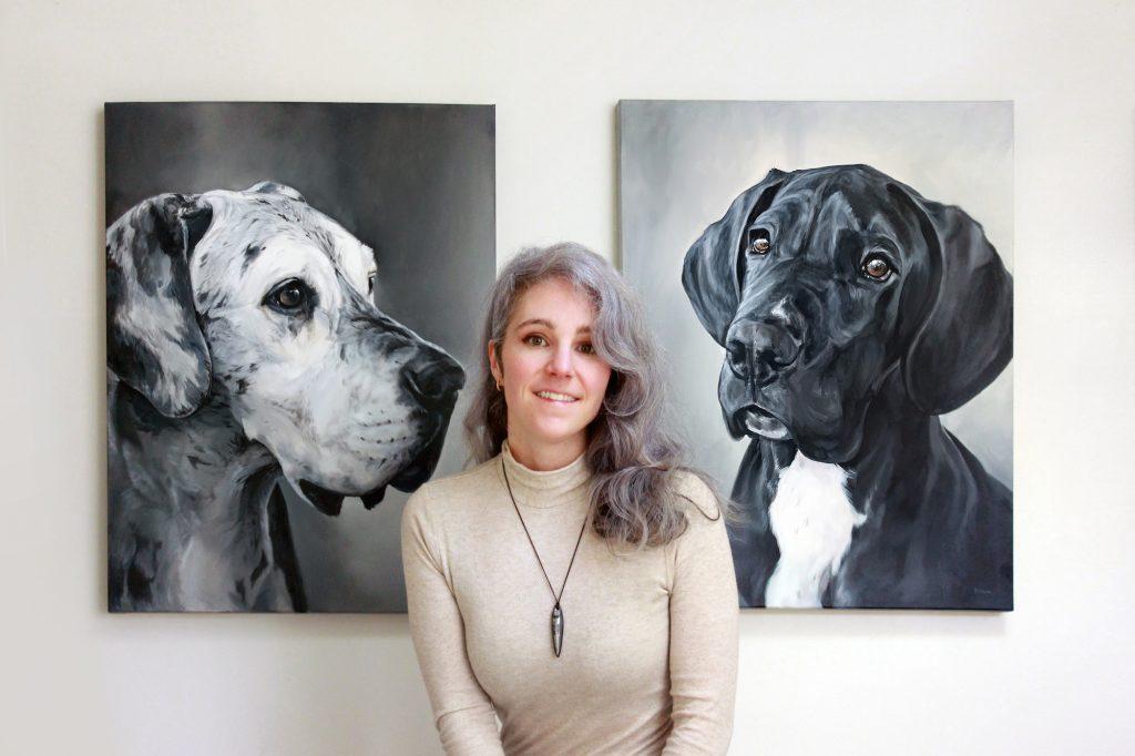 Zann Hemphill Pet Portrait Painting Artist