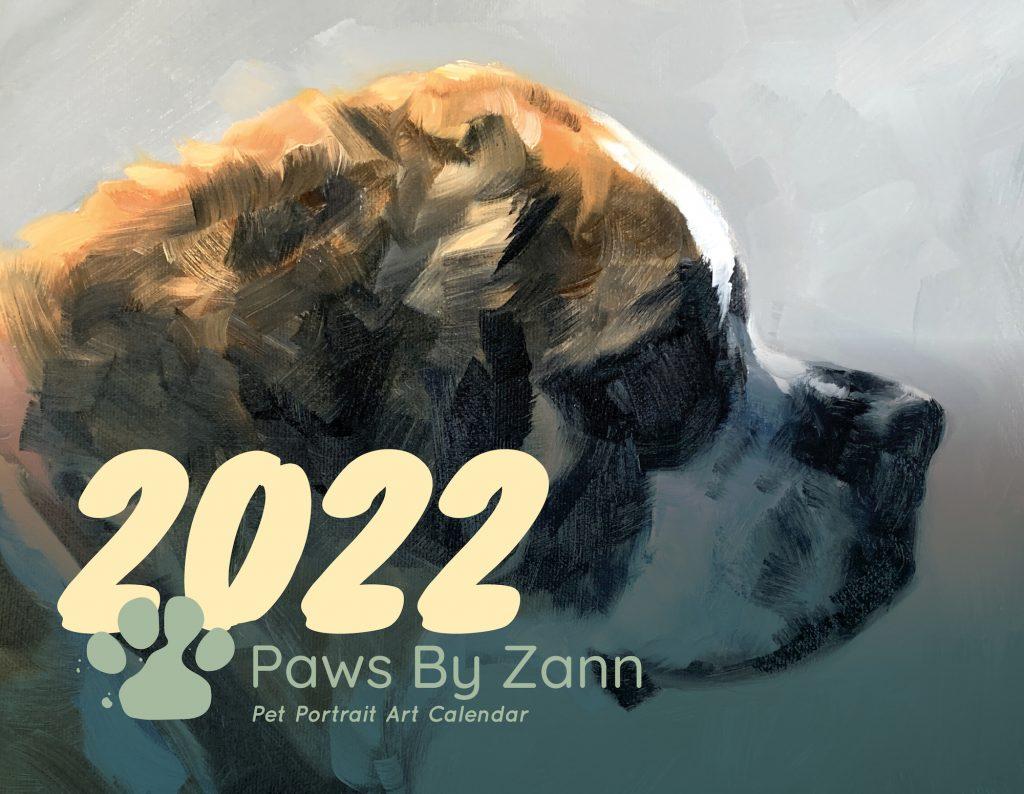 2022 Pet Portrait Art Calendar